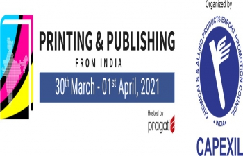 CAPEXIL organises PPI_printing & Publishing India fair from 30th March to 1st April 2021