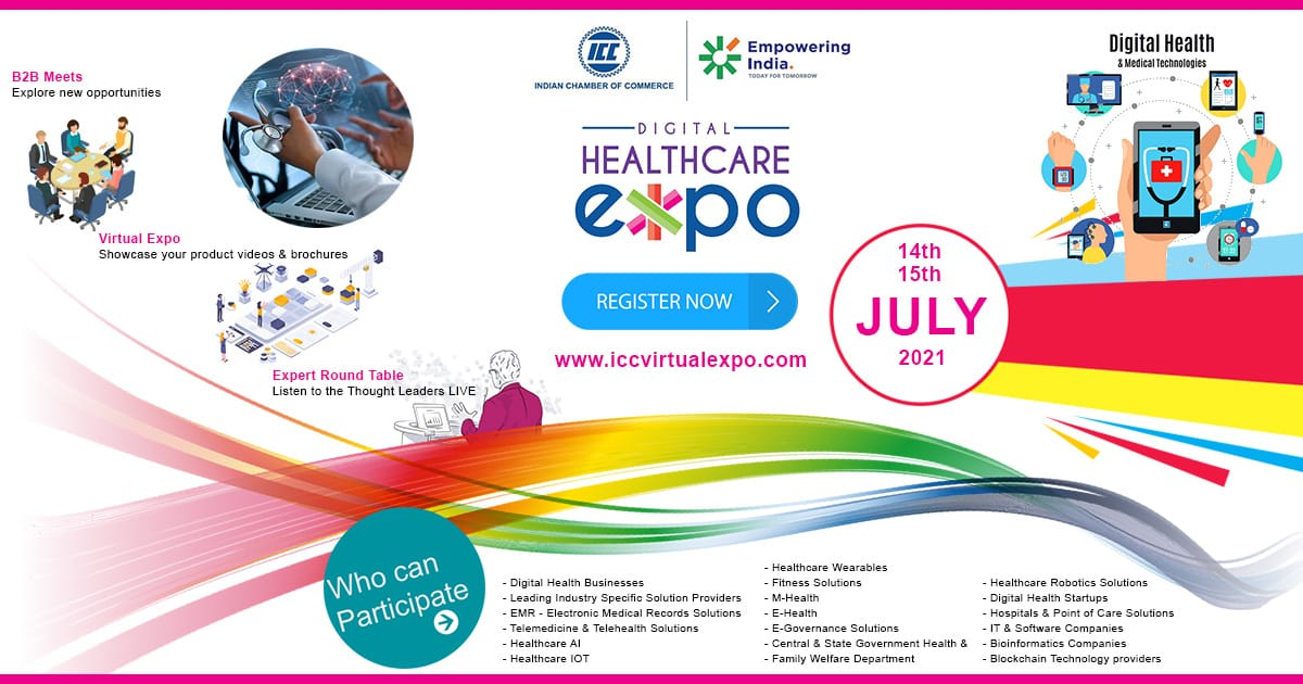 """""""Digital Healthcare Expo"""" from 14 – 15 July, 2021"""