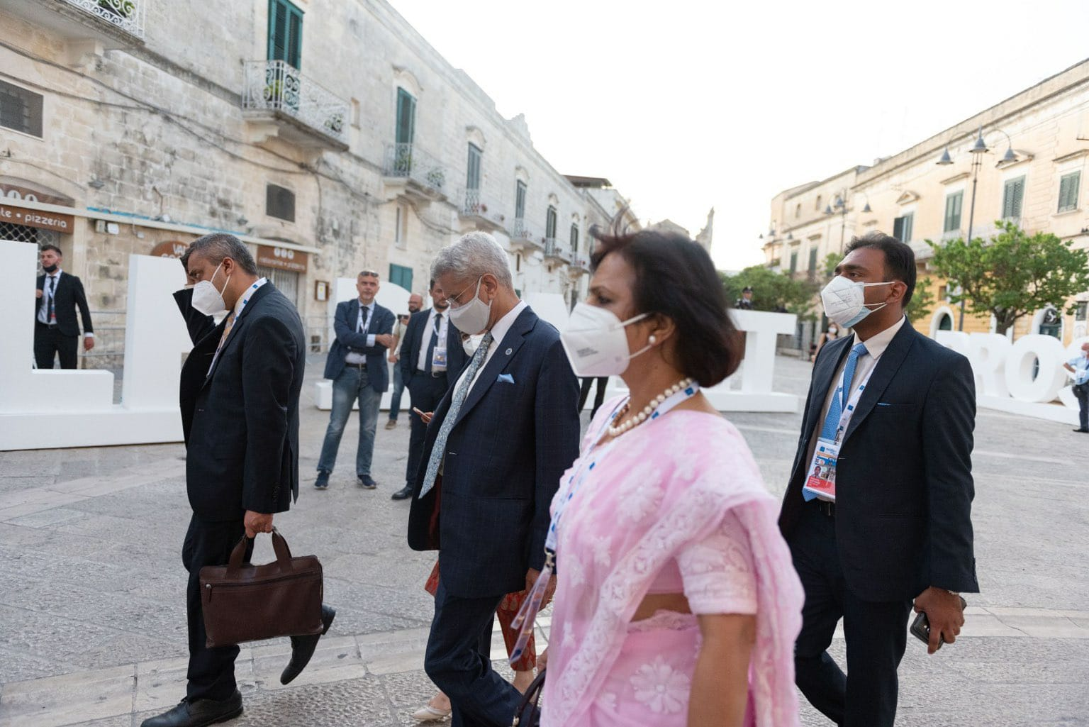 """EAM Visit to Italy for the G20 Foreign and Development Ministers' Meeting and Ministerial Event on Humanitarian Assistance"""""""